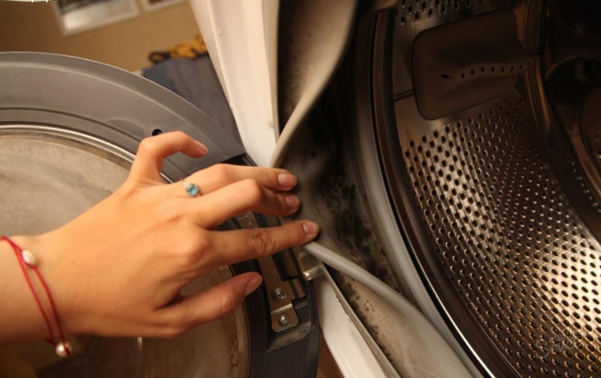 قارچ در ماشین لباسشویی