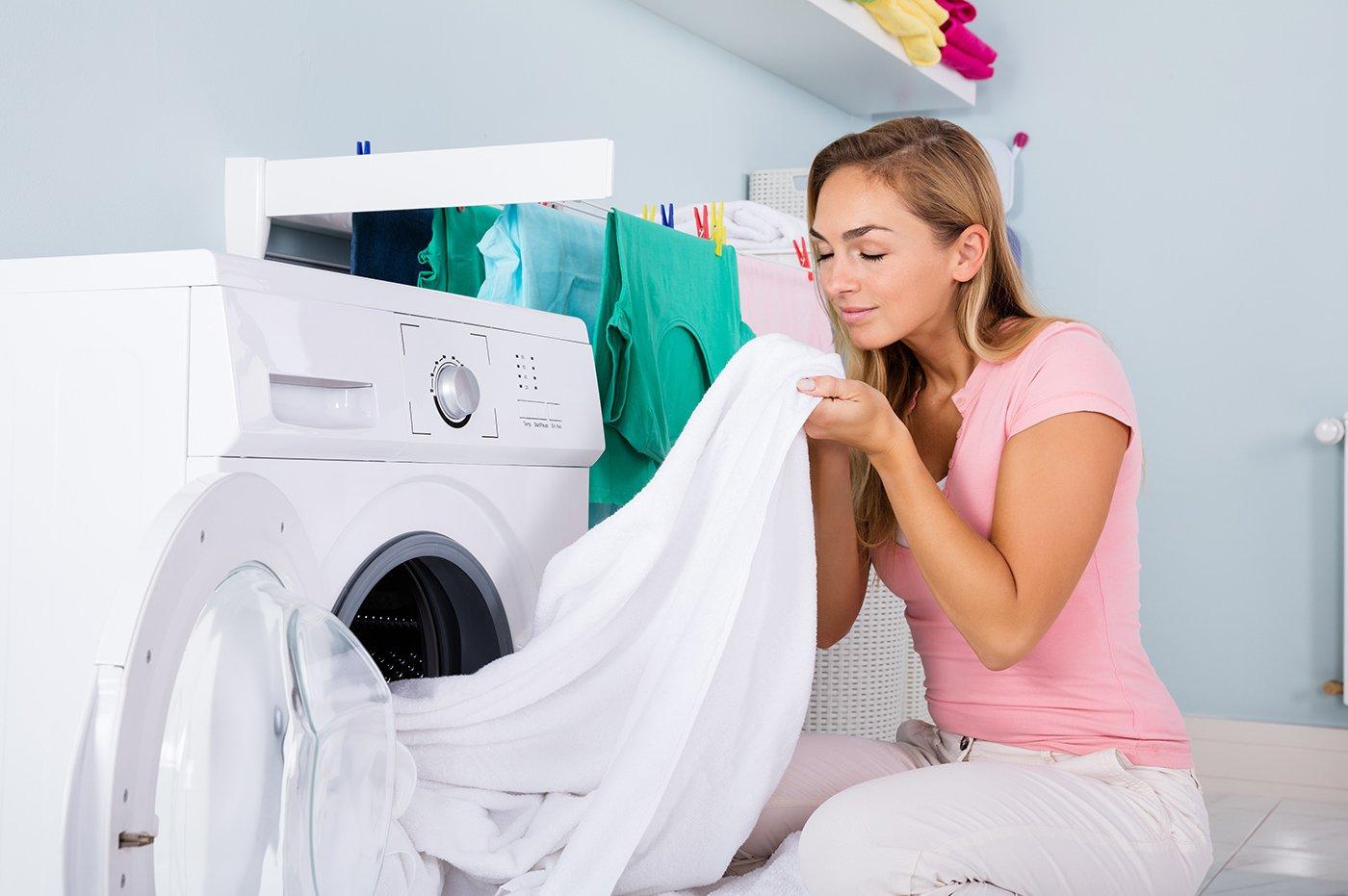 تمیز شدن لباس پس از شستشو