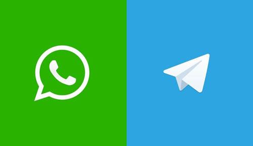 تلگرام واتساپ یا تموک