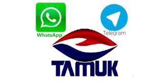واتساپ تلگرام مواد غذایی تموک
