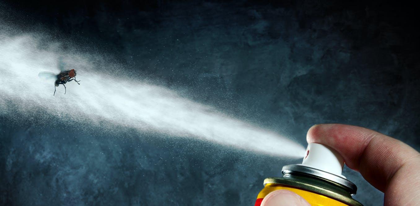 مواد شیمیایی خطرناک در حشره کش ها